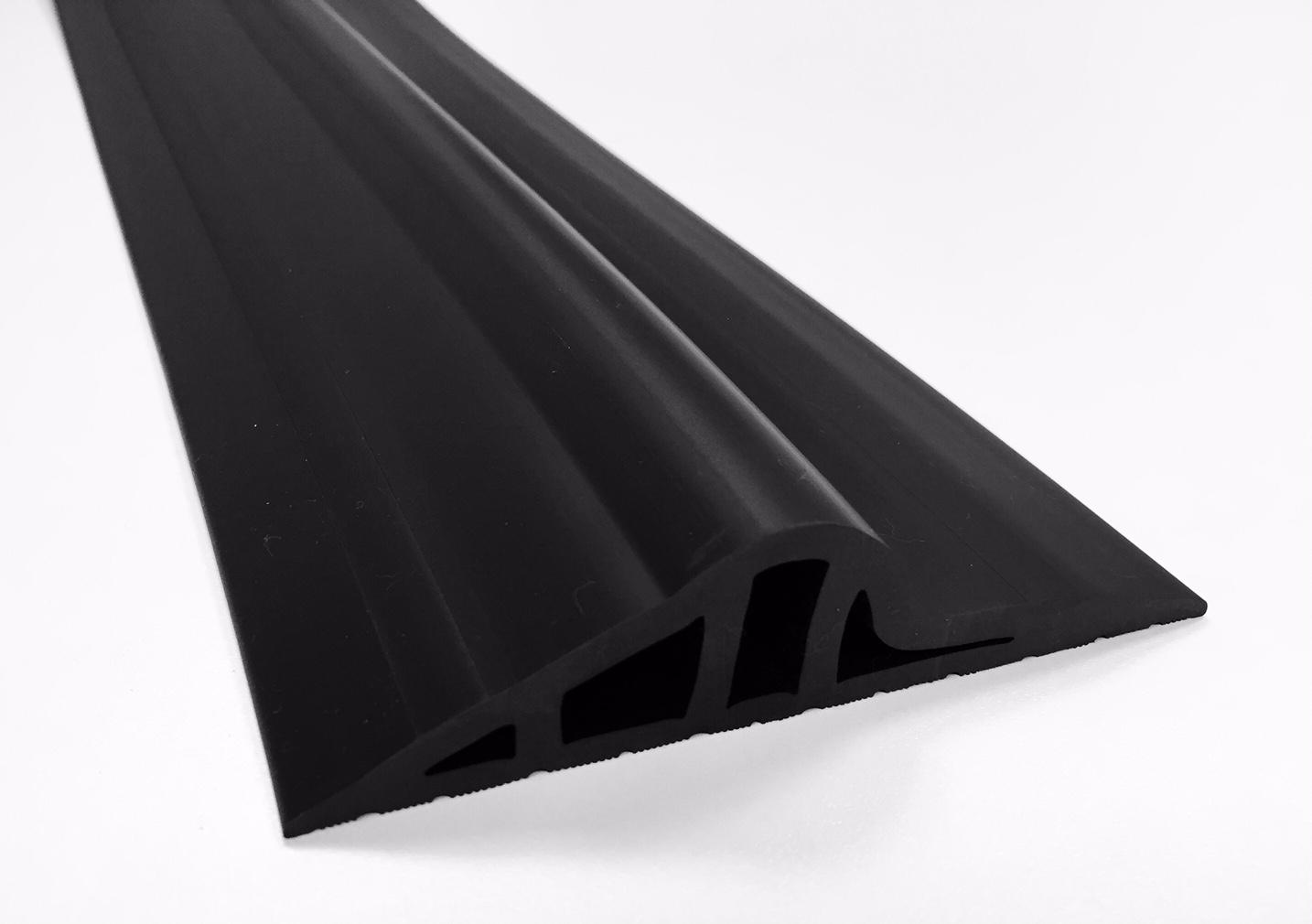 ! 30mm Black Rubber Garage Threshold Seal
